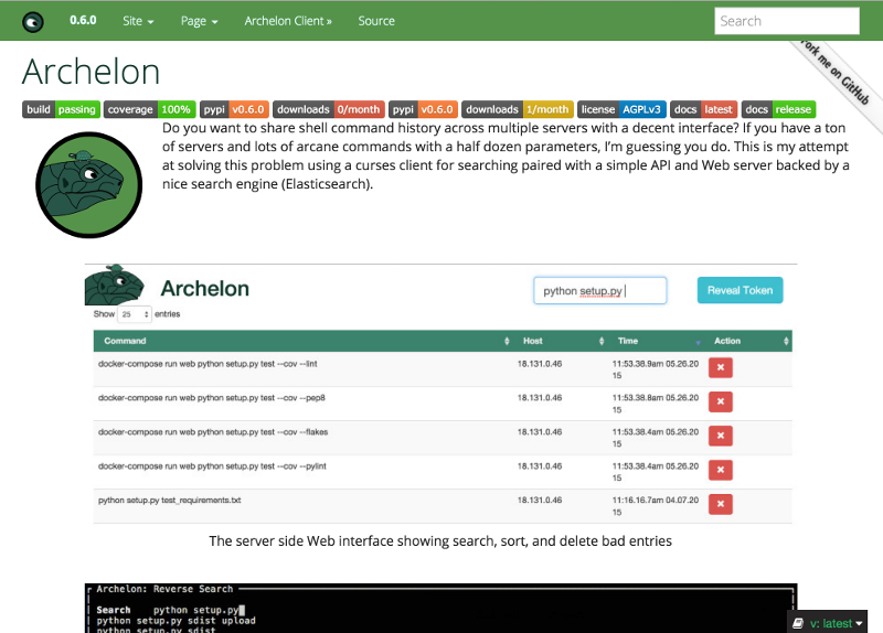 Archelon Documentation